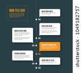 vector vertical infographic... | Shutterstock .eps vector #1049182757