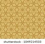 seamless modern vector... | Shutterstock .eps vector #1049214533