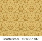 seamless modern vector... | Shutterstock .eps vector #1049214587