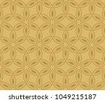 seamless modern vector... | Shutterstock .eps vector #1049215187
