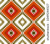 Seamless Pattern Turkish Carpe...