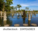 water palace tirta ganga in... | Shutterstock . vector #1049263823