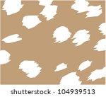 creative deer skin | Shutterstock .eps vector #104939513