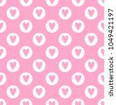 cute seamless vector pattern... | Shutterstock .eps vector #1049421197