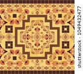 seamless pattern with ancient... | Shutterstock .eps vector #1049432477