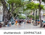 la habana  cuba   march 26th... | Shutterstock . vector #1049467163