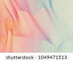 abstract line dot wave....   Shutterstock .eps vector #1049471513