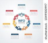 vector infographic template for ...   Shutterstock .eps vector #1049500997