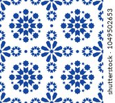 geometric seamless pattern... | Shutterstock .eps vector #1049502653