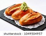Bread And Avocado Sauce