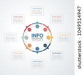 vector infographic template for ...   Shutterstock .eps vector #1049514947