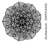 mandalas for coloring book.... | Shutterstock .eps vector #1049515433