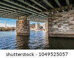 view of the washington  dc...   Shutterstock . vector #1049525057