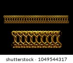 golden  ornamental segment  ... | Shutterstock . vector #1049544317