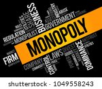monopoly word cloud collage ...   Shutterstock .eps vector #1049558243