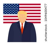 september 20  2017. donald... | Shutterstock .eps vector #1049600477