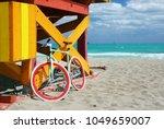 Bike   lifeguard station in...