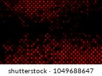 dark red vector  cover with... | Shutterstock .eps vector #1049688647