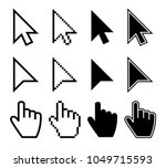 clicking mouse cursors ... | Shutterstock .eps vector #1049715593