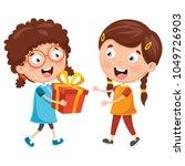 vector illustration of kid... | Shutterstock .eps vector #1049726903