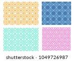 seamless islamic pattern in... | Shutterstock .eps vector #1049726987