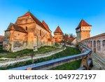 alma vii  evangelical fortified ... | Shutterstock . vector #1049727197