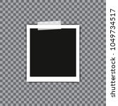 rotated photo frame concept ... | Shutterstock .eps vector #1049734517