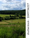Small photo of July 5, 2009. Kaluga region, Russia. Central Russia summer landscape.
