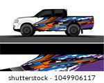 truck  car and vehicle racing... | Shutterstock .eps vector #1049906117