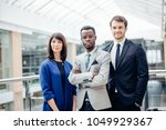 group of businesspeople... | Shutterstock . vector #1049929367