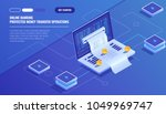 internet payments  protection... | Shutterstock .eps vector #1049969747