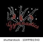 rhinestone applique print for... | Shutterstock .eps vector #1049981543