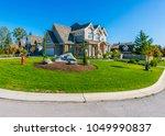 big custom made luxury house...   Shutterstock . vector #1049990837