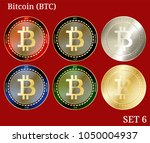 6 in 1 set of bitcoin  btc ...