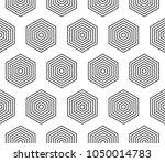 vector seamless geometric... | Shutterstock .eps vector #1050014783