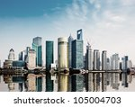 Modern City Shanghai Skyline I...