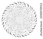 key swirl bang. object cluster...   Shutterstock .eps vector #1050070913