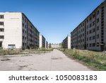 desolate soviet apartment... | Shutterstock . vector #1050083183
