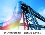 equipment  cables and piping as ... | Shutterstock . vector #1050112463