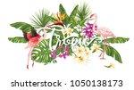 template of poster  banner ... | Shutterstock .eps vector #1050138173