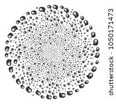 intellect bulb centrifugal bang.... | Shutterstock .eps vector #1050171473