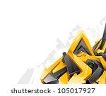 vector illustration in graffiti ...
