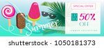 sale special offer banner.... | Shutterstock . vector #1050181373