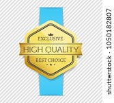 exclusive high quality best... | Shutterstock .eps vector #1050182807