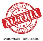 made in algeria red rubber...