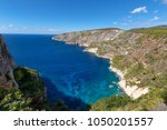 beautiful summer landscape from ... | Shutterstock . vector #1050201557