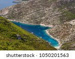 beautiful summer seascape from... | Shutterstock . vector #1050201563