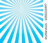 sun rays vintage background ... | Shutterstock .eps vector #1050210497