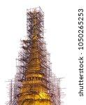 Golden Pagoda Is Repairing On...