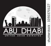 abu dhabi united arab emirates...   Shutterstock .eps vector #1050370127
